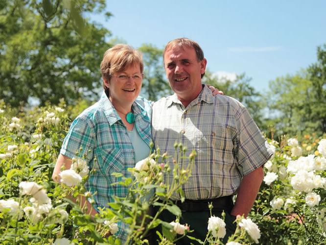 Christa Schliecker und Peter Schliecker | Die Gastgeber vom Landhaus Schliecker heißen Sie Willkommen