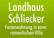 Landhaus Schliecker - Ferienwohnung in einer romantischen Villa